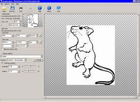 PhotoZoom - для увеличение картинок
