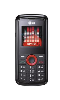 LG KP108 – телефон с минимальной функциональностью