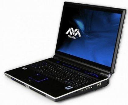 Современный мощный ноутбук Clevo X8100