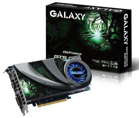 Galaxy представила обновленную GeForce GTS 250