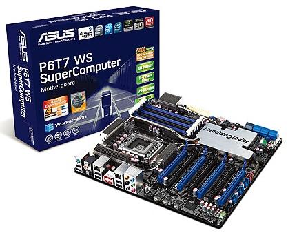 Официальный анонс Asus P6T7 WS SuperComputer