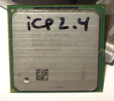 Разгон Celeron 2.4 (Northwood) до 3,6ГГц