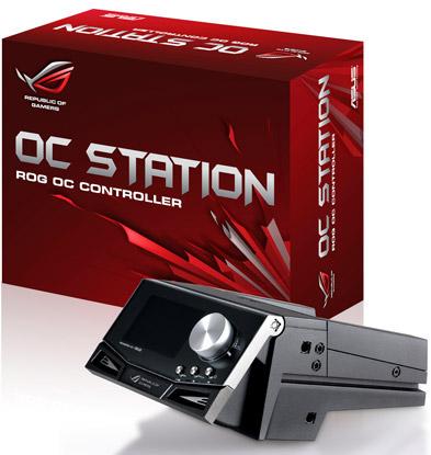 ASUS ROG OC Station - для разгона компьютера