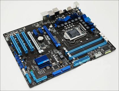 ASUS P7P55 PRO – грядущая плата на чипсете Intel P55