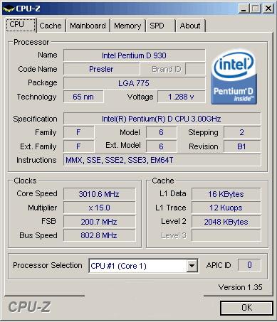 Разгон Intel Pentium D 930 и энергопотребление системы