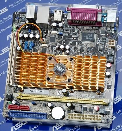 ASUS подготовила системную плату AT3GC-I Mini-ITX