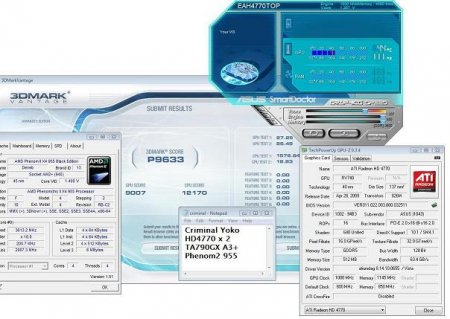 Radeon HD 4770 разогнана до 1 ГГц по ядру