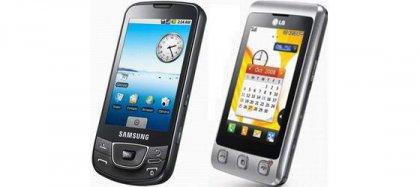 Samsung и LG: 40 млн тачфонов на двоих