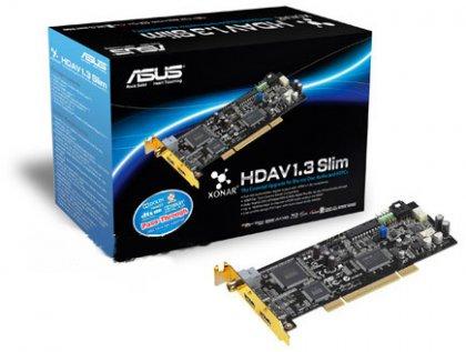 Аудио/видеокарта ASUS под шину PCI с поддержкой HDMI 1.3a