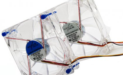 Вентиляторы Nexus D12SL-12BL и D12SL-12WL: тихие, яркие и производительные