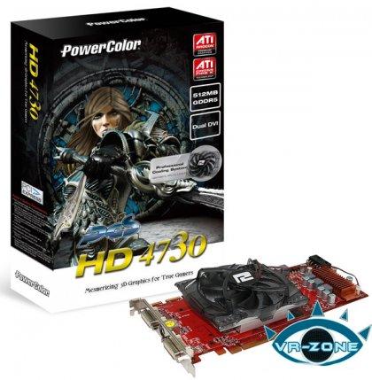 Radeon HD 4730 представит PowerColor