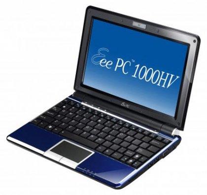 Eee PC 1000HV: ноутбук от ASUS