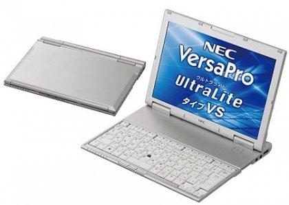 Рекордно тонкий нетбук NEC