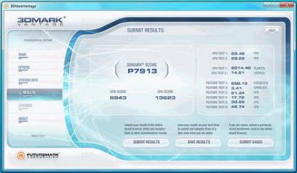 Результаты тестирования Core i5