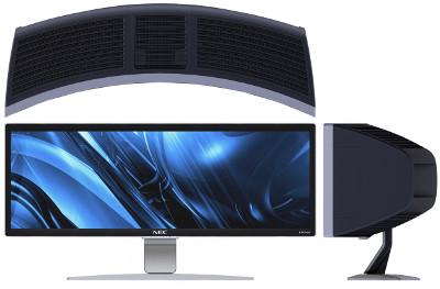 Монитор NEC CRV43 - 43 изогнутых дюйма на сверхшироком экране за $7999