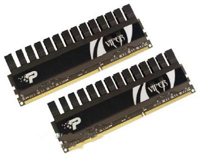 Анонс наборов памяти DDR3 серии Viper II от Patriot