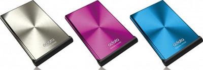 """A-DATA представила NH92 - """"самый тонкий"""" портативный жесткий диск в мире"""