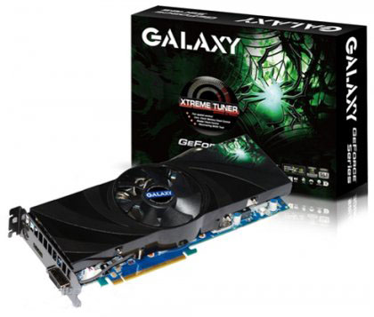 Galaxy GeForce GTX 260+ - с заводским разгоном на 8%