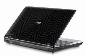 MSI Bravo EX627 – ноутбук для просмотра видео