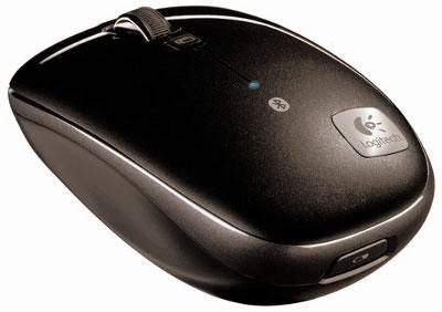 Logitech M555b - Bluetooth-мышь с высокоскоростным колесиком прокрутки
