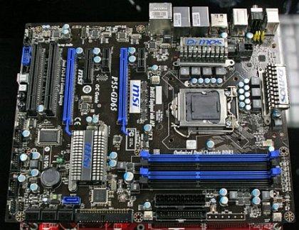 Третья плата MSI на базе Intel P55