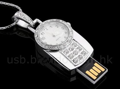 USB Jewel Watch - флешка для тех, кто вечно опаздывает