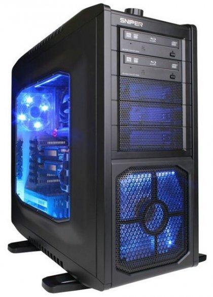 CyberPower продемонстрировала пару компьютеров серии Fang
