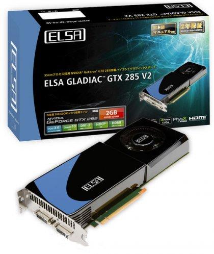GeForce GTX 285 от ELSA с парой гигабайтов памяти