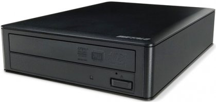 Внешний DVD-привод Buffalo со скоростью записи 20х