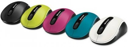 Мышь для нетбуков Microsoft Wireless Mobile Mouse 4000