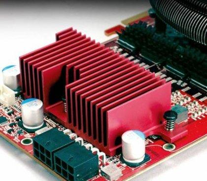 Радиатор для силовых компонентов Radeon HD 4870 и 4890