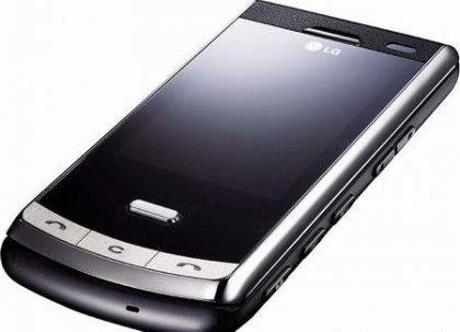LG KF755 Secret - телефон с солнечной батареей