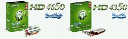 PowerColor выпускает пару бюджетных «зеленых» видеокарт