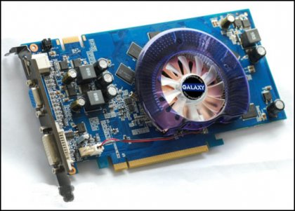 Galaxy GeForce 9600 GT Low Power с кулером Cooler Master