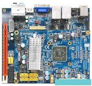 Albatron K3780E - с инегрированным процессором AMD ASB1