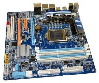 Gigabyte GA-P55M-UD4 - для Intel Core i5.