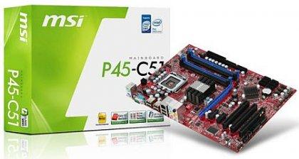 Недорогие платы MSI на базе Intel P55