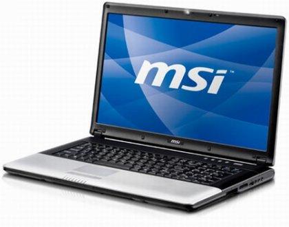 Ноутбуки MSI CX700 и CR700