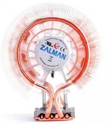 Zalman CNPS9900A LED — новый вариант массивного процессорного кулера