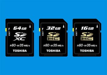 Анонс карты памяти SDXC на 64 Гб