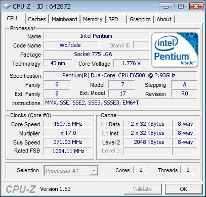 Обзор разгона Pentium E6500K