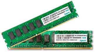 Новое поколение модулей памяти DDR3 от Apacer