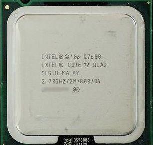 Core 2 Quad Q7600: четыре ядра и 2 Мб кэша