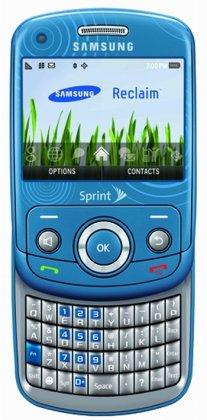 """""""Чистый"""" телефон Samsung M560 Reclaim"""