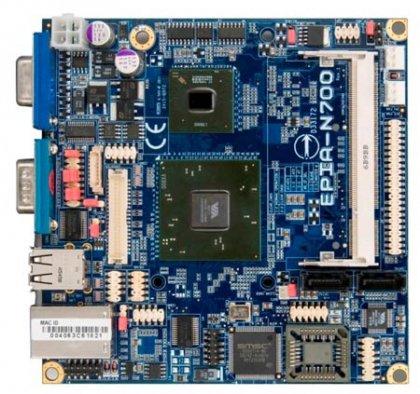 Системная плата VIA EPIA N700-10EW - не боится высоких температур