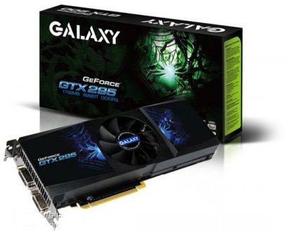 Galaxy GeForce GTX 295 с разгоном
