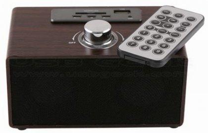 Mp3-плеер Retro Wooden Speaker