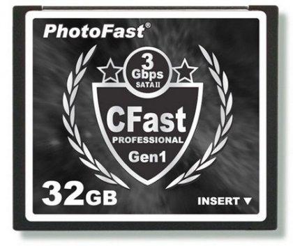PhotoFast представила новые накопители формата CFast