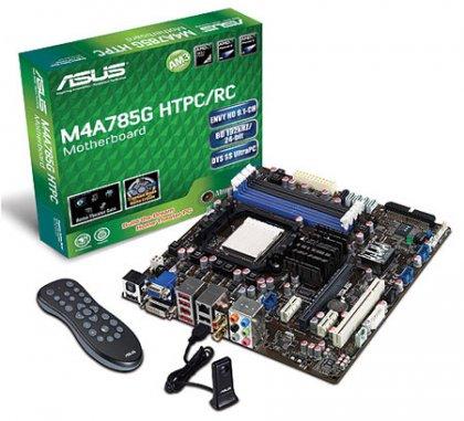 Asus выпускает новую серию плат Absolute Pitch - M4A785G HTPC/RC и M4A785G HTPC