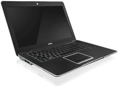 MSI X-Slim X410 - самый тонкий в мире ноутбук
